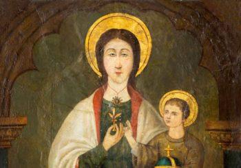 La Virgen de la Flor de Lis